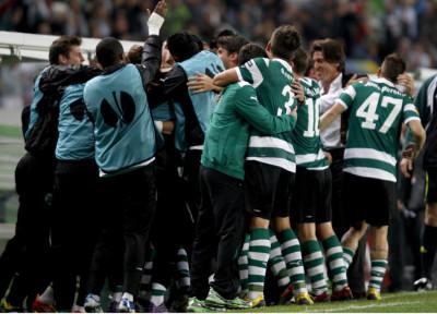 Soccer - UEFA Europa League - Round of 16 - First Leg - Sporting Lisbon v Manchester City - Jose Alvalade