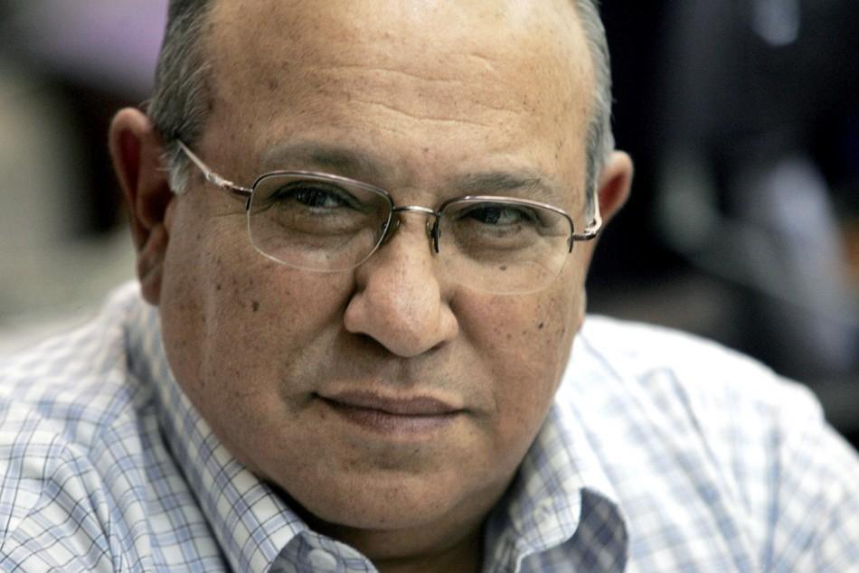 File photo shows Meir Dagan, head of Israel's spy agency Mossad, attending a meeting in Jerusalem