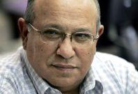 File photo shows Meir Dagan, head of Israel\'s spy agency Mossad, attending a meeting in Jerusalem