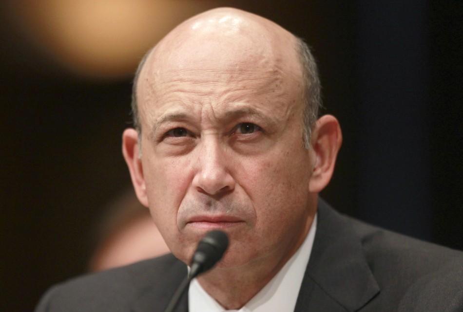 Goldman Sachs Chairman And CEO Lloyd Blankfein