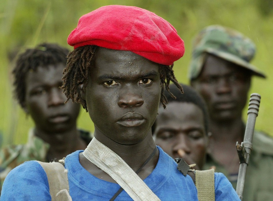 Lord's Resistance Army soldiers, as portrayed in the film Kony 212