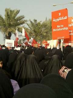 Thousands of women also attended the protest