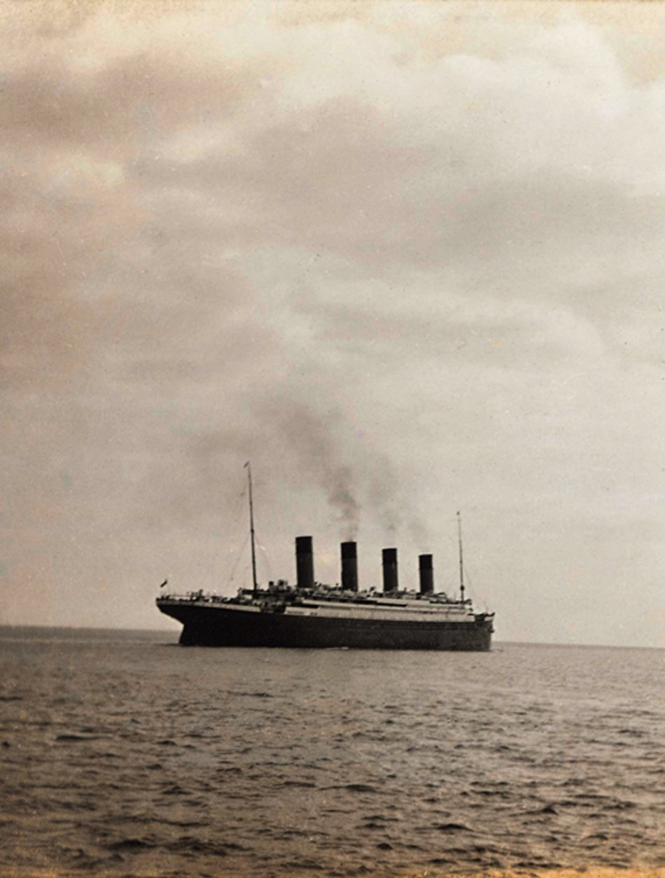 Last Image Of The Titanic