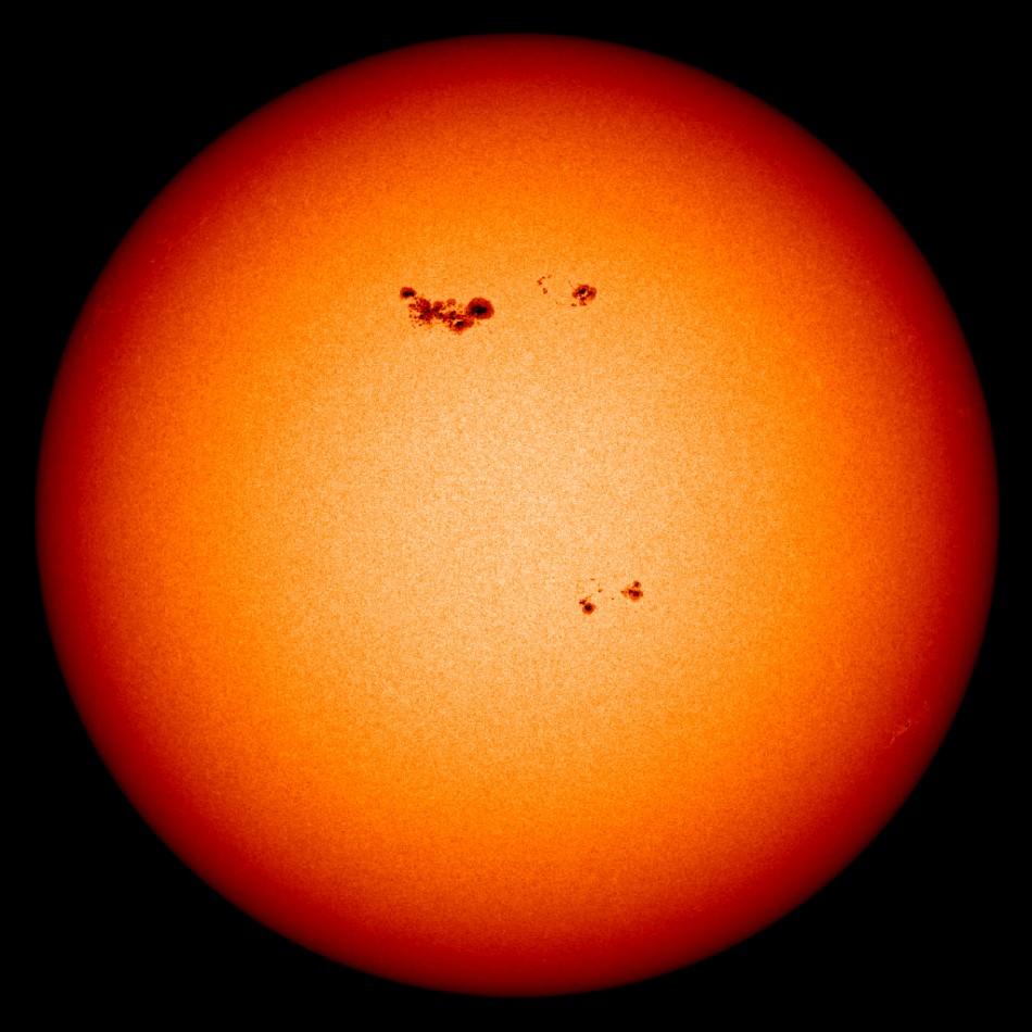 NASA handout image shows the Sun