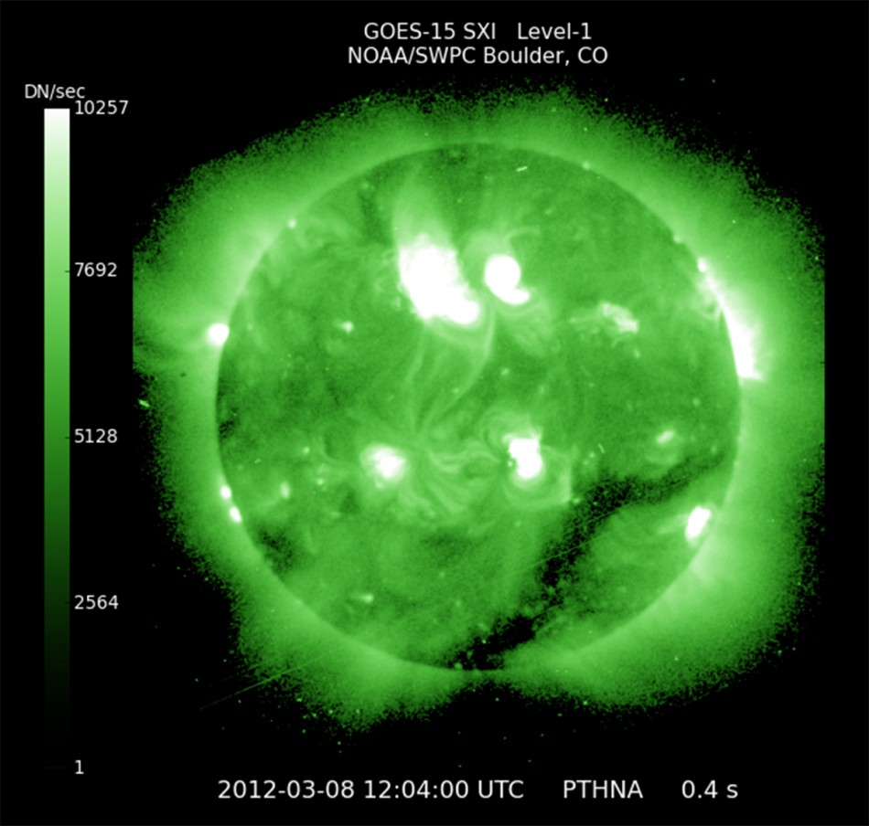 NOAA handout image