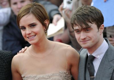 Emma Watson and Daniel Radcliffe