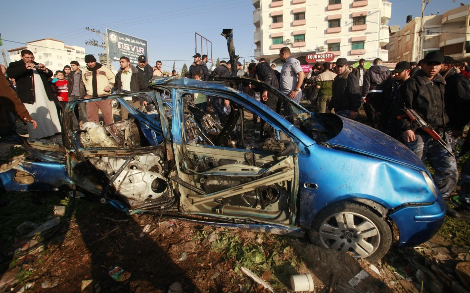 Israel Air Strike in Gaza