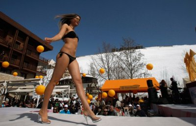 Hottest Lingerie Models in the 2012 Ski and Fashion Festival