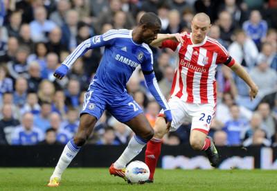Soccer - Barclays Premier League - Chelsea v Stoke City - Stamford Bridge