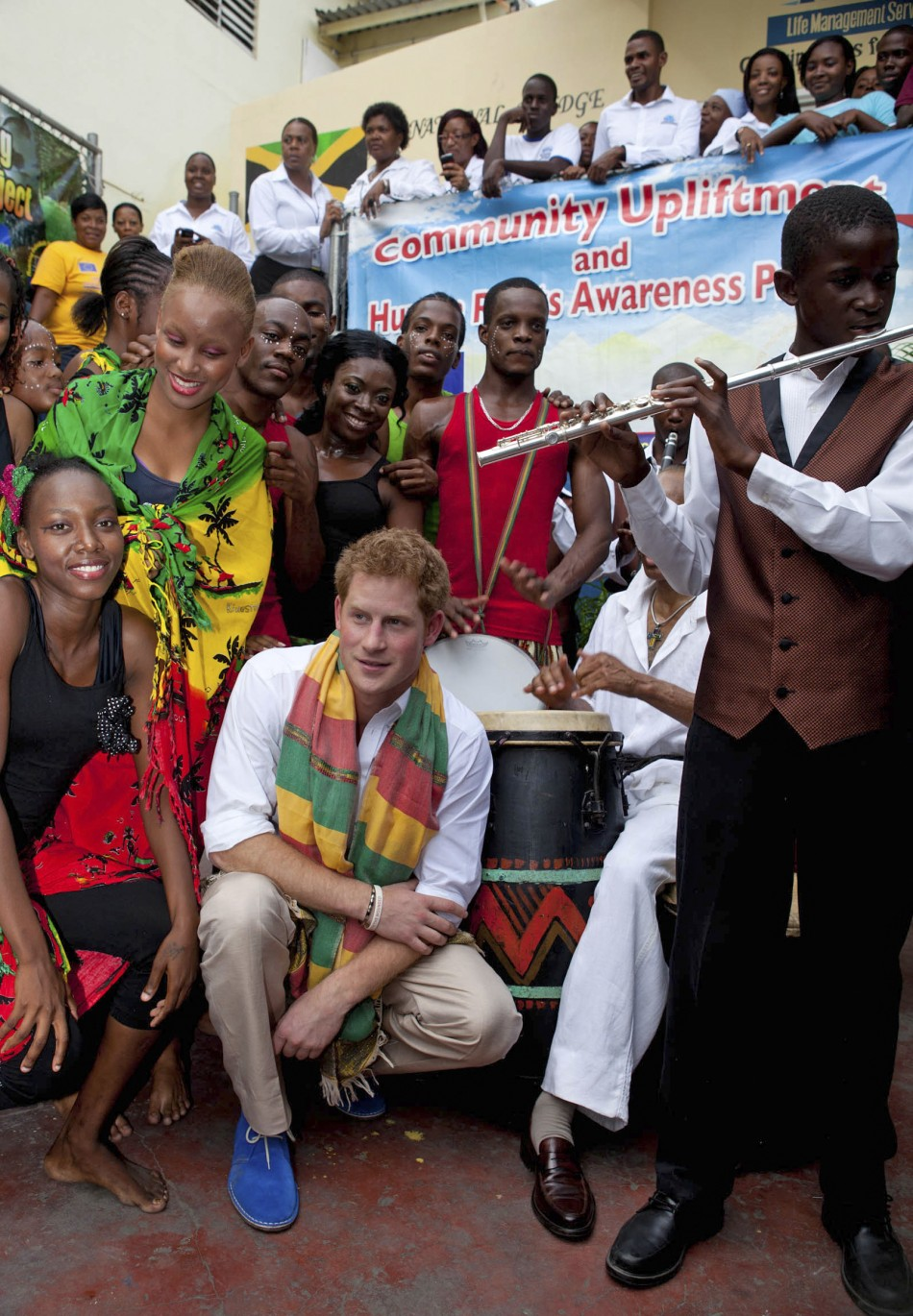 Prince Harry039s visit to Brazil and Jamaica