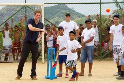 Prince Harry Charms Brazil with His Sports Skills and Energetic Style