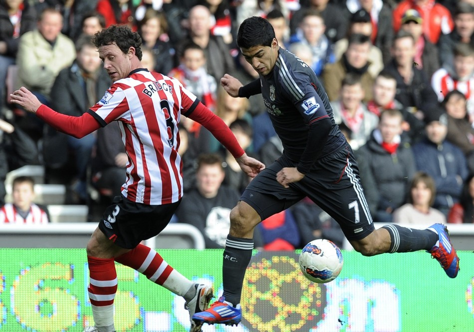Soccer - Barclays Premier League - Sunderland v Liverpool - Stadium of Light