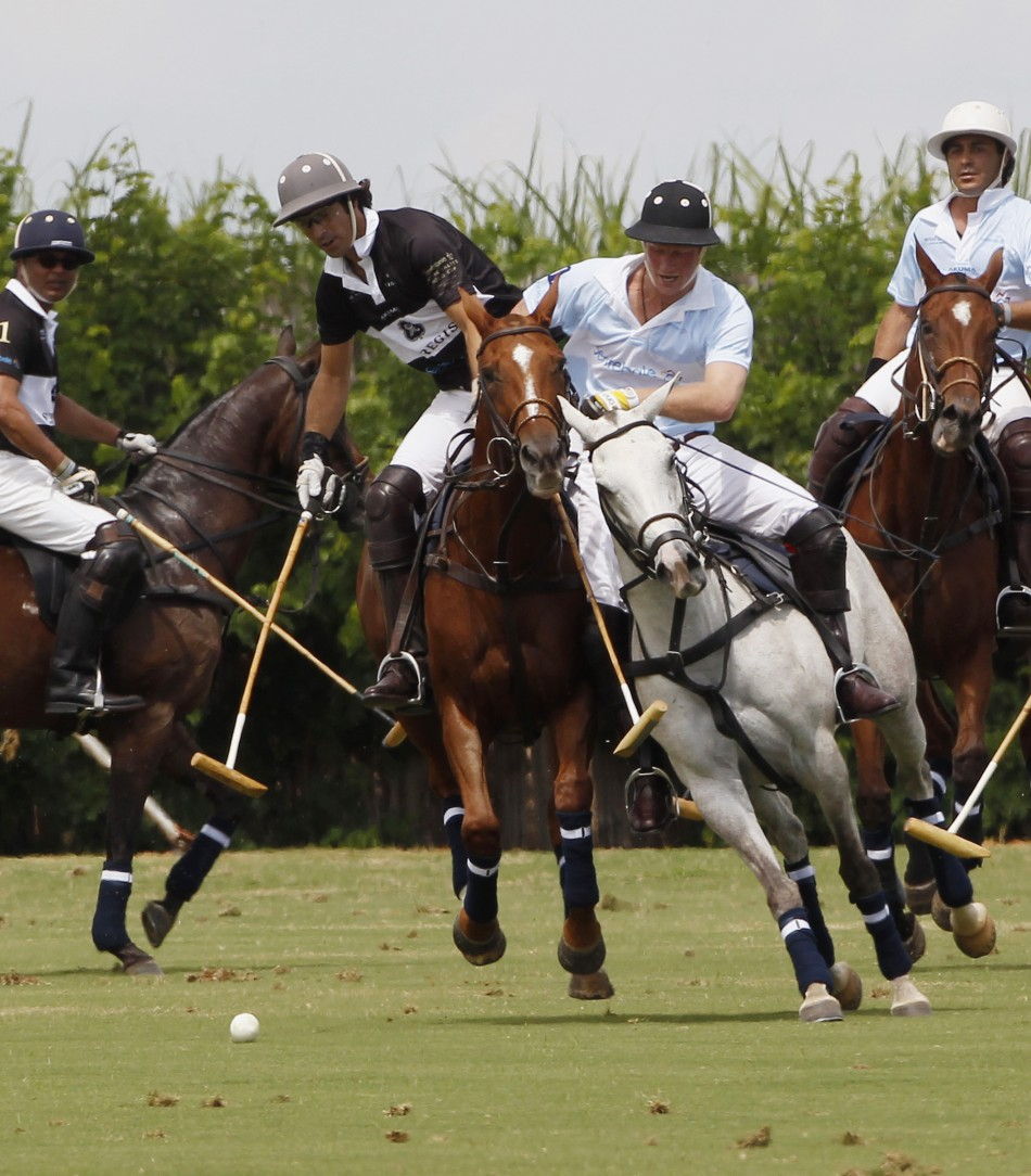 prince harry winds up diamond jubilee tour with polo match photos. Black Bedroom Furniture Sets. Home Design Ideas
