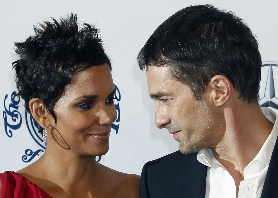 Olivier Martinez  engagement with actress Halle Berry