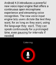 Powerful Voice Input Engine