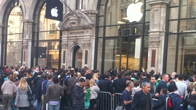 Apple Store queue