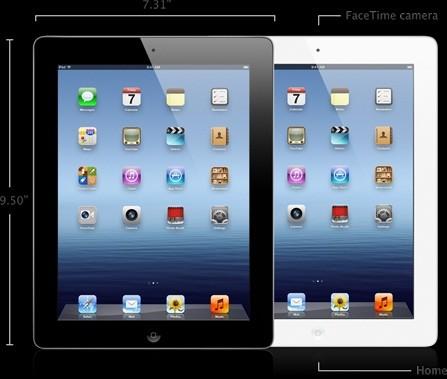 Apple's new iPad