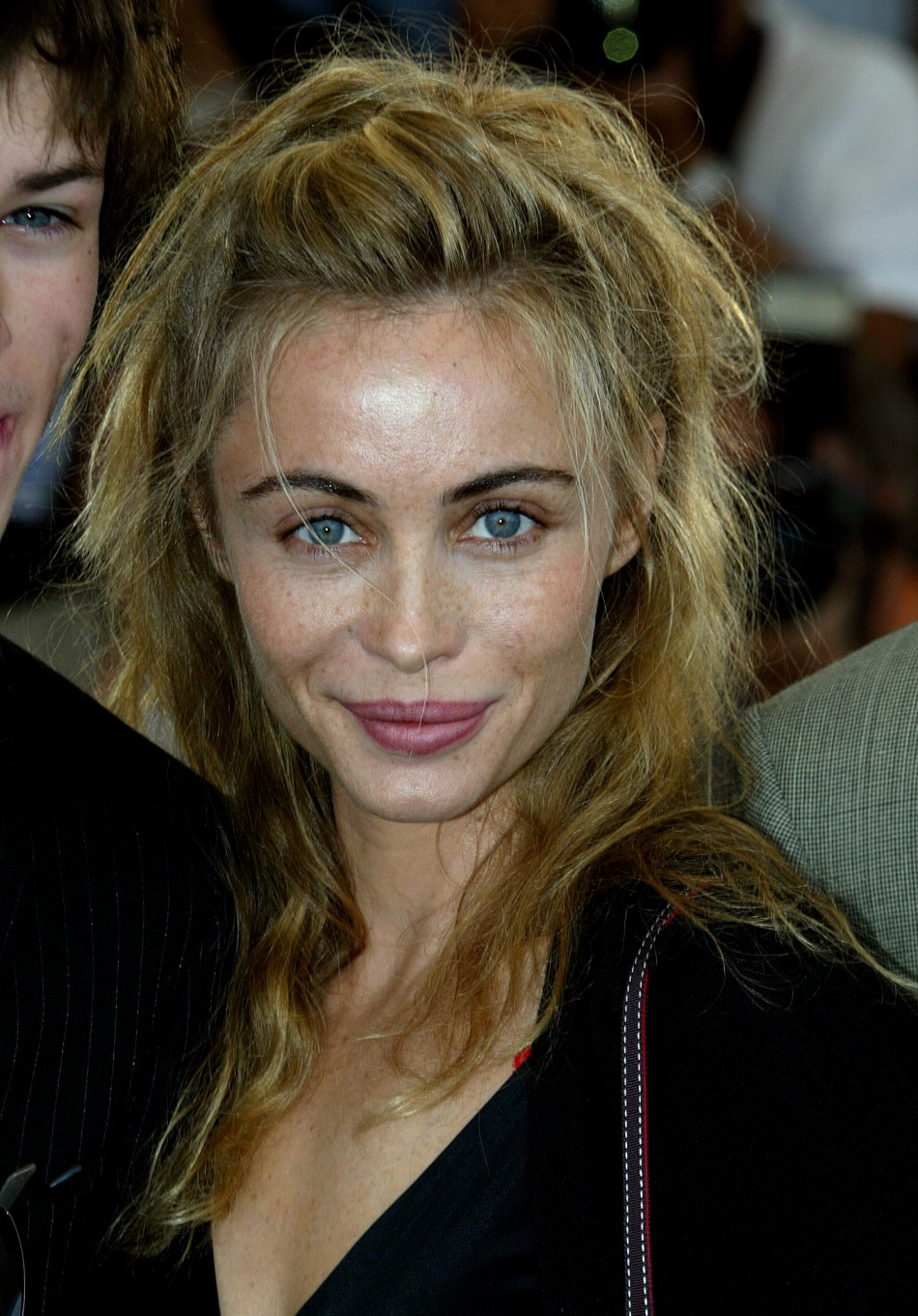 FRENCH ACTRESS BEART POSES FOR quotLES EGARESquot AT 56TH INTERNATIONAL FILM FESTIVAL IN CANNES in 2003