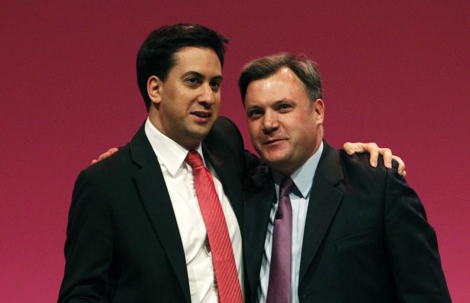 Ed Miliband and Ed Balls