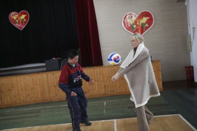 Princess Charlene Visits Shanghai School as Global Ambassador of Special Olympics