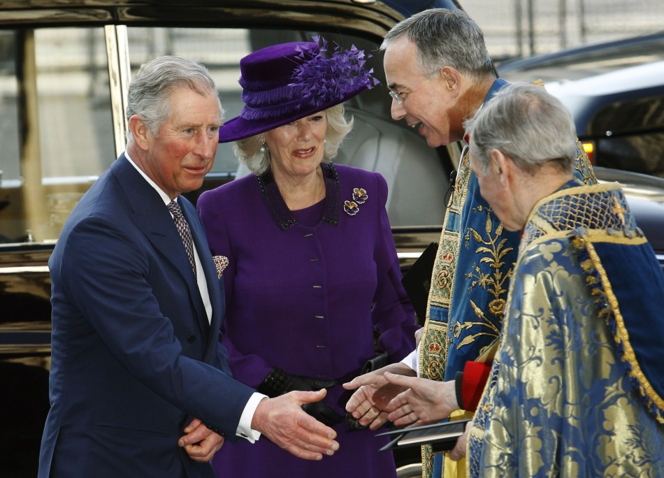 Queen Leads Senior Royal Members in Commonwealth Day Observance