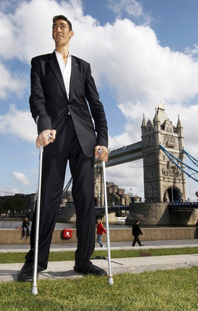 Sultan Kosen - Worlds Tallest Man