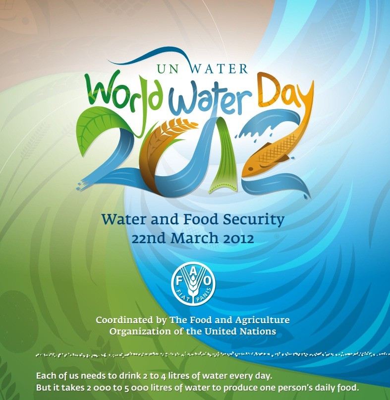 World Water Day 2012: Less Water, Less Food