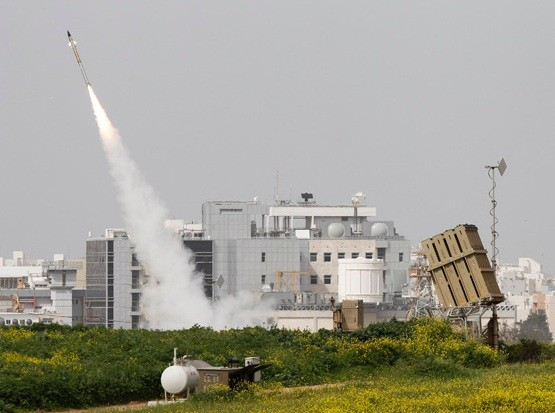 Iron dome Israel rocket system