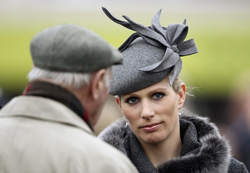 Zara Phillips in High Fashion at the Cheltenham Festival