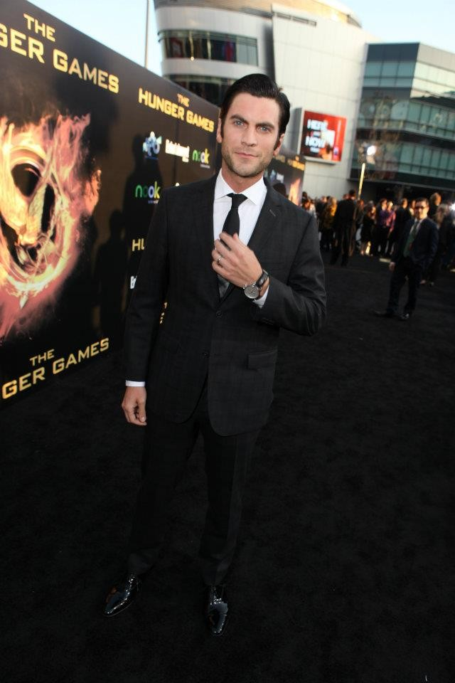 Wes Bentley at The Hunger Games World Premiere at Nokia Theater L.A Live