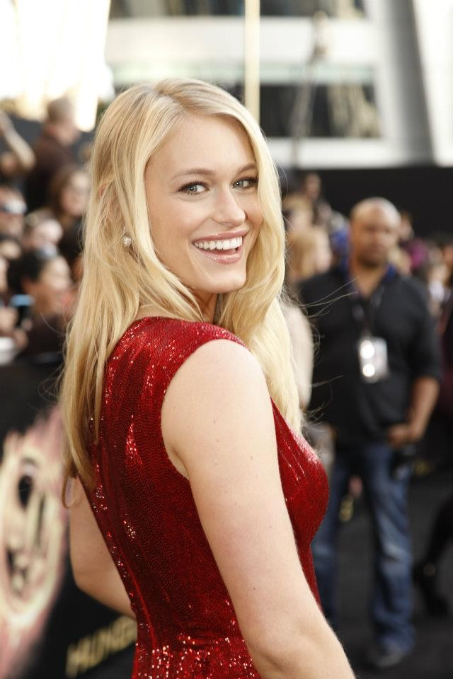 Leven Rambin at The Hunger Games World Premiere at Nokia Theater L.A Live