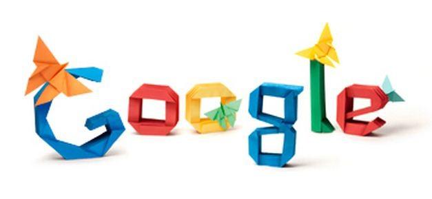 An Origami Google Doodle Celebrating Akira Yoshizawa 's 101st Birthday