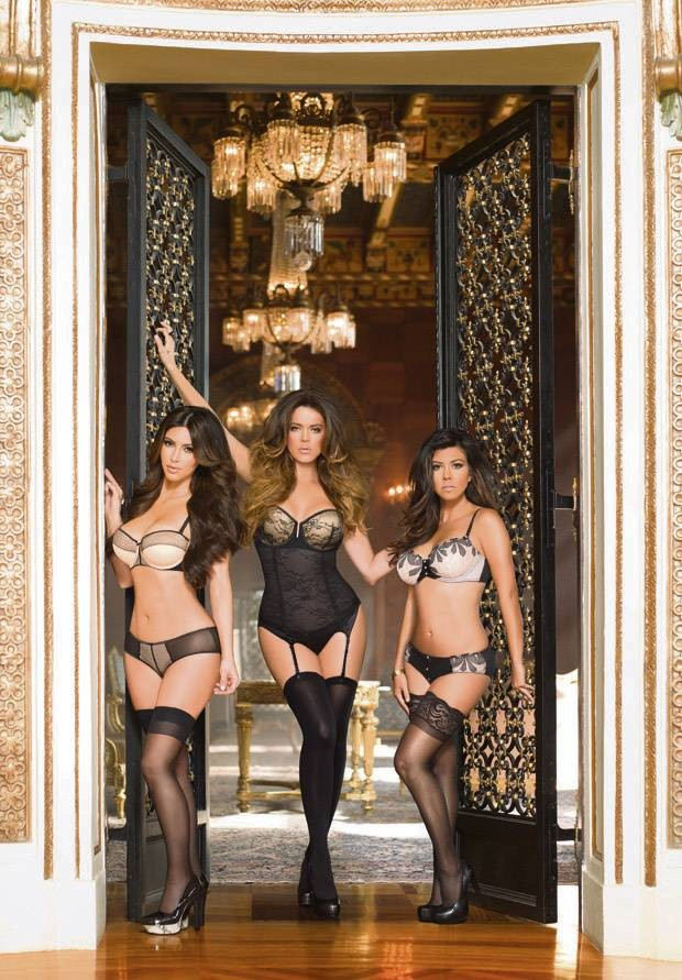 Kim Kardashian, Khloe and Kourtney