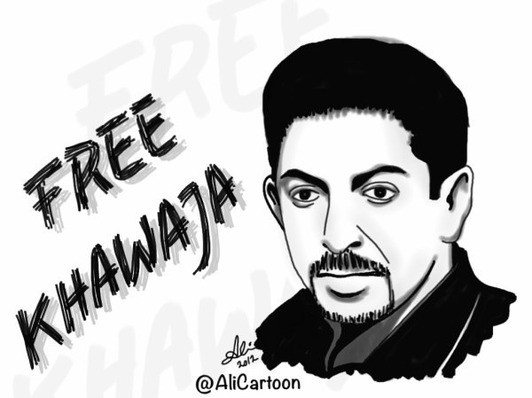 Bahrainis have taken to Twitter in an effort to draw attention to the hunger strike of an imprisoned human rights activist.