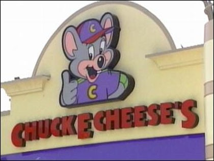 Children left behind twice in one week at Chuck E Cheese restaurants in United States