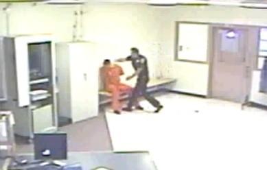The attack on David Coffey from Lt. David Monell appears around 2:55 (Gannett)