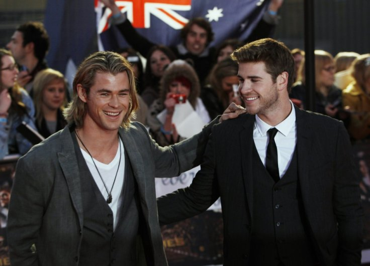 Actor brothers Chris and Liam Hemsworth