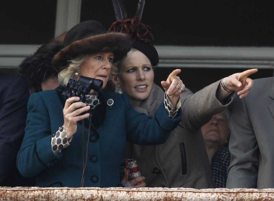 Zara Phillips Horrified as Ex-Boyfriend Takes Tumble