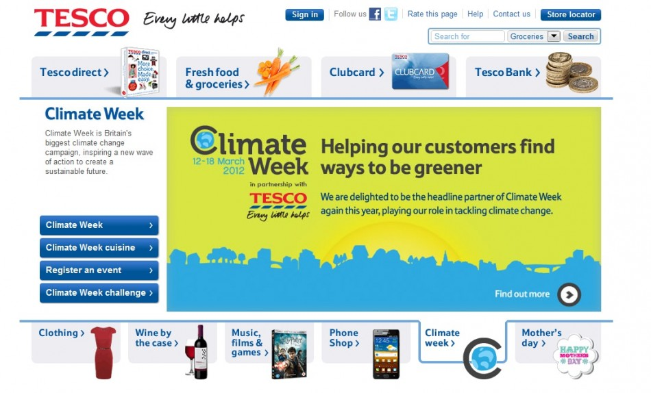 Tesco is a major retail business employing 170,000 employees in the UK.
