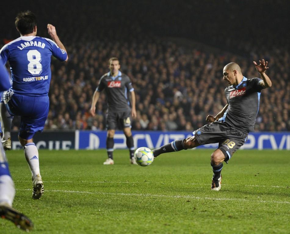 Soccer - UFEA Champions League - Round of Sixteen - Second Leg - Chelsea v Napoli - Stamford Bridge