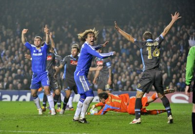 Soccer - UFEA Champions League - Round of Sixteen - Second Leg - Chelsea v Napoli - Stamford Bridge