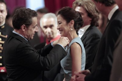 Nicolas Sarkozy Awards Fashion, Movie and Music Stalwarts with Legion of Honor
