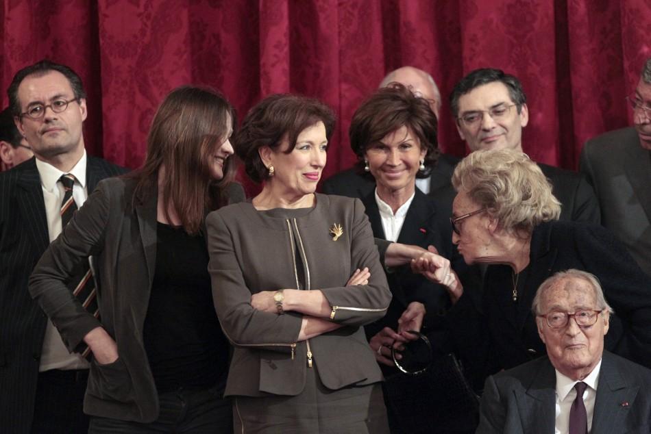 Nicolas Sarkozy Awards Fashion, Movie and Music Stalwarts with Legion of Honor