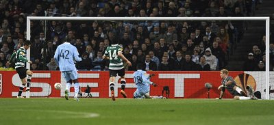 Soccer - Europa League - Round of Sixteen -  Second Leg - Manchester City v Sporting Lisbon - Etihad stadium