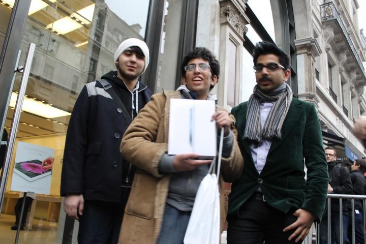 Apple iPad Launch Regent Street