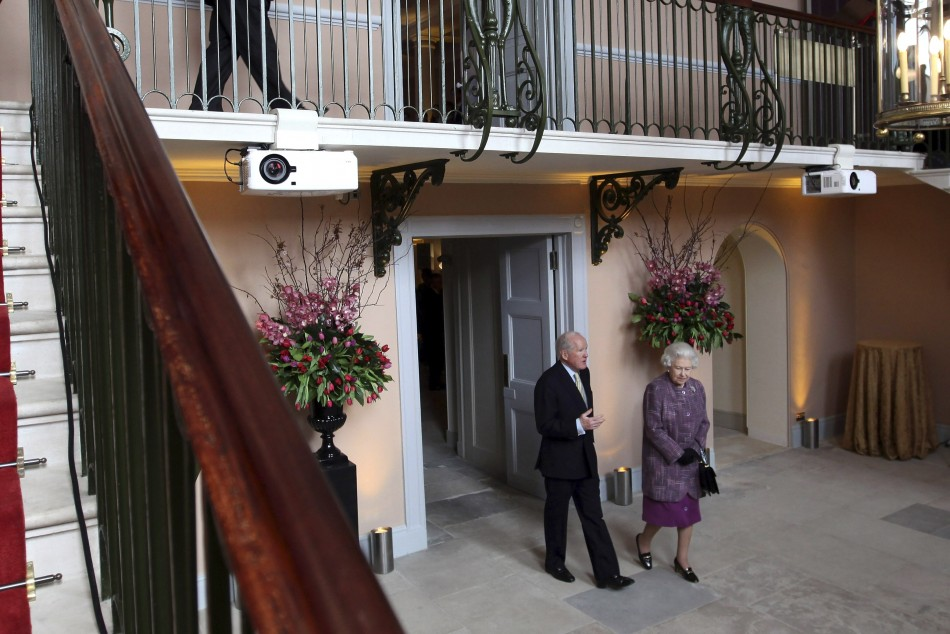 Queen Elizabeth Cuts Ribbon At Re Opening Ceremony Of
