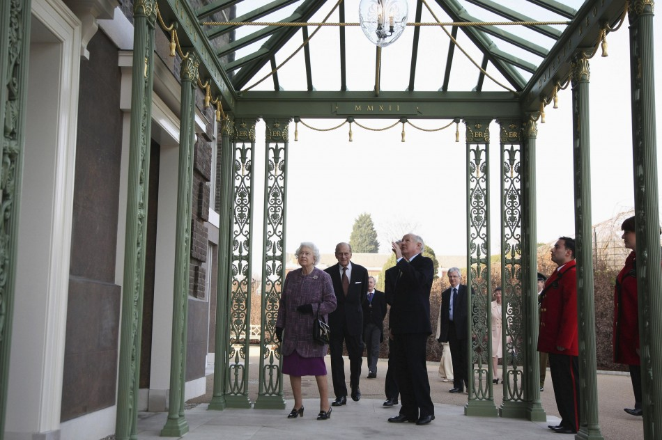 Britain039s Queen Elizabeth and Prince Philip attend the the official reopening of Kensington Palace in London