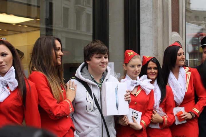Regent Street iPad Launch