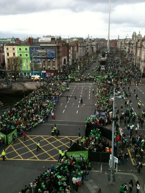 St. Paddy's Parade in Ireland