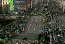 St. Paddy's Parade in Ireland